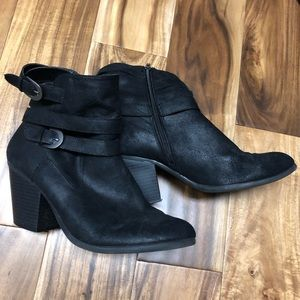 Women's Aerosoles 9.5 black boot